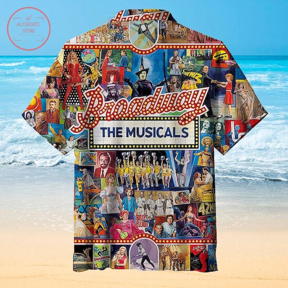 Broadway the musicals Hawaiian Shirt