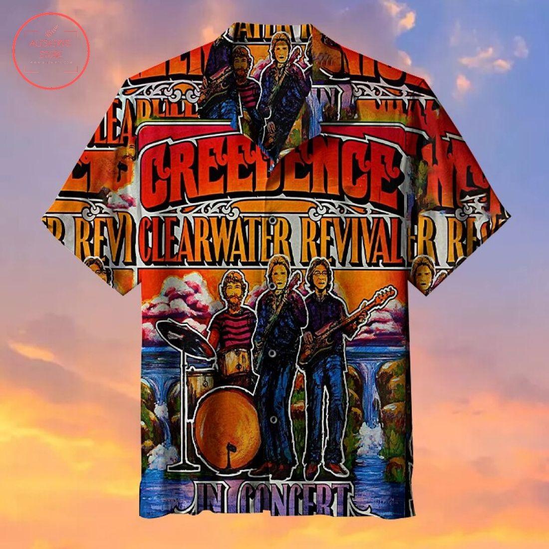 CCR In Concert Rock HawaiianShirt