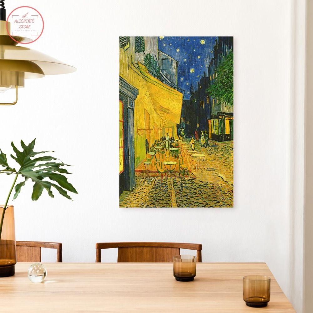 Cafe Terrace Canvas Print