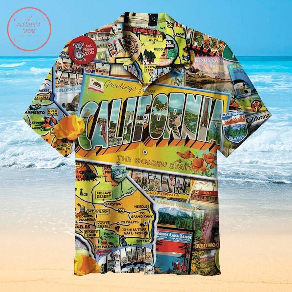 California dream Hawaiian Shirt