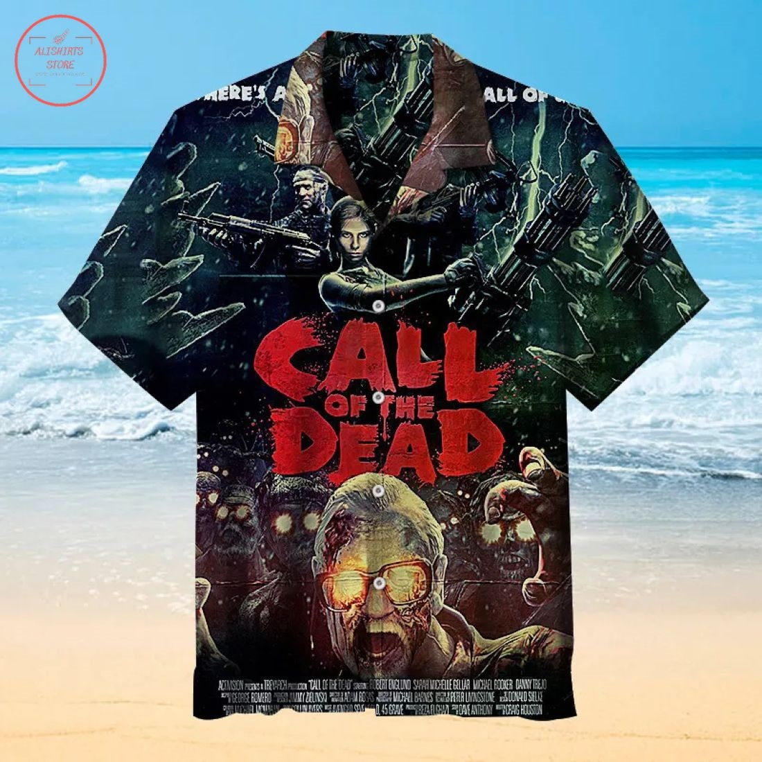 Call Of Duty Hawaiian Shirt