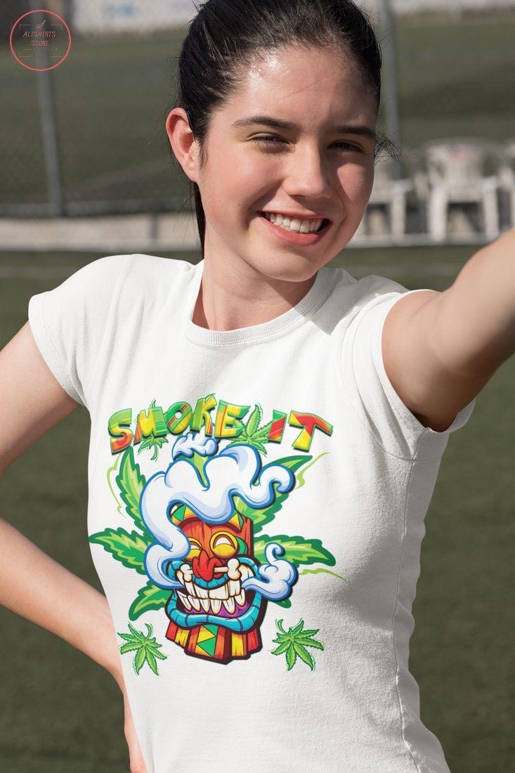 Cannabis Smoke it Marijuana Shirt