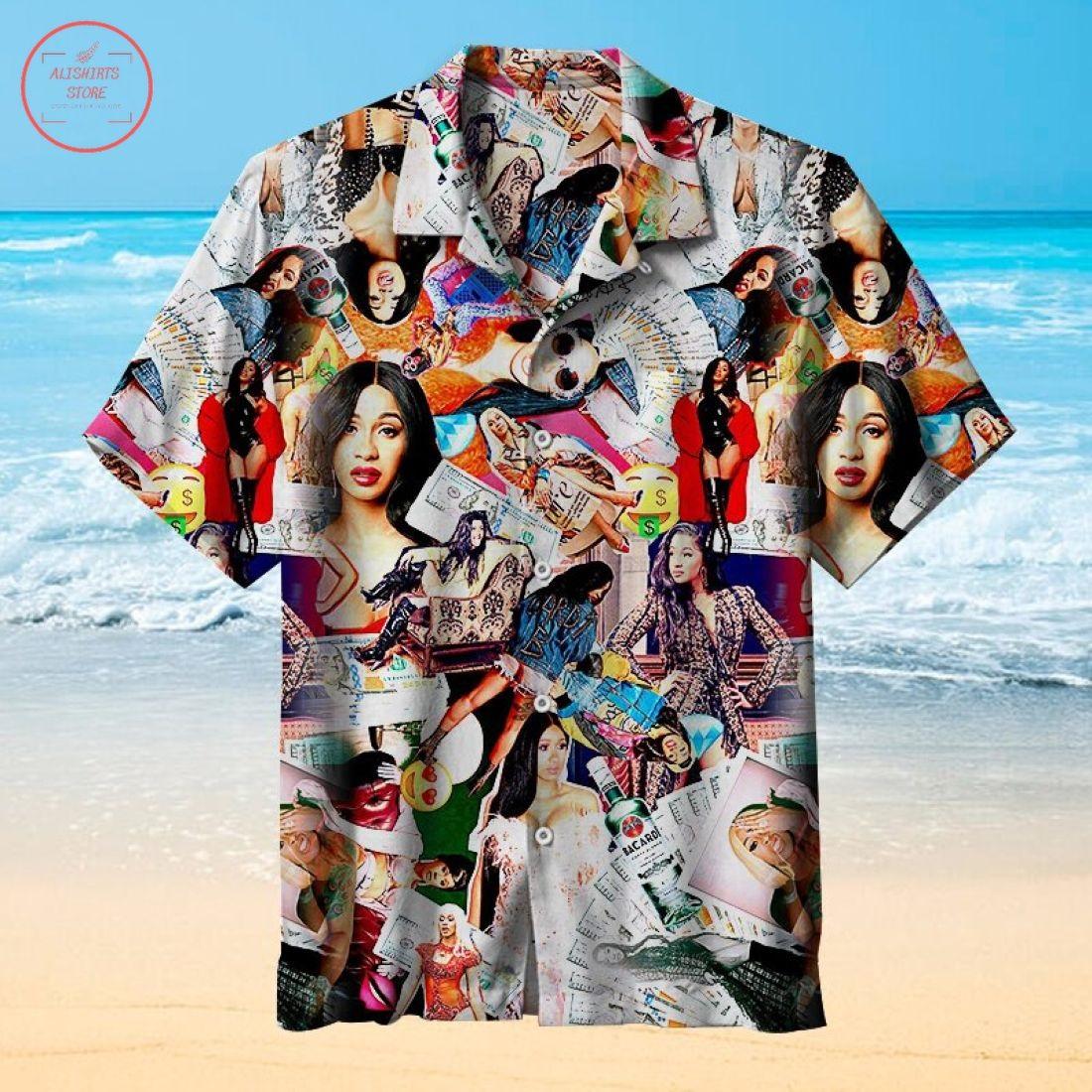 Cardi B Universal Hawaiian Shirt