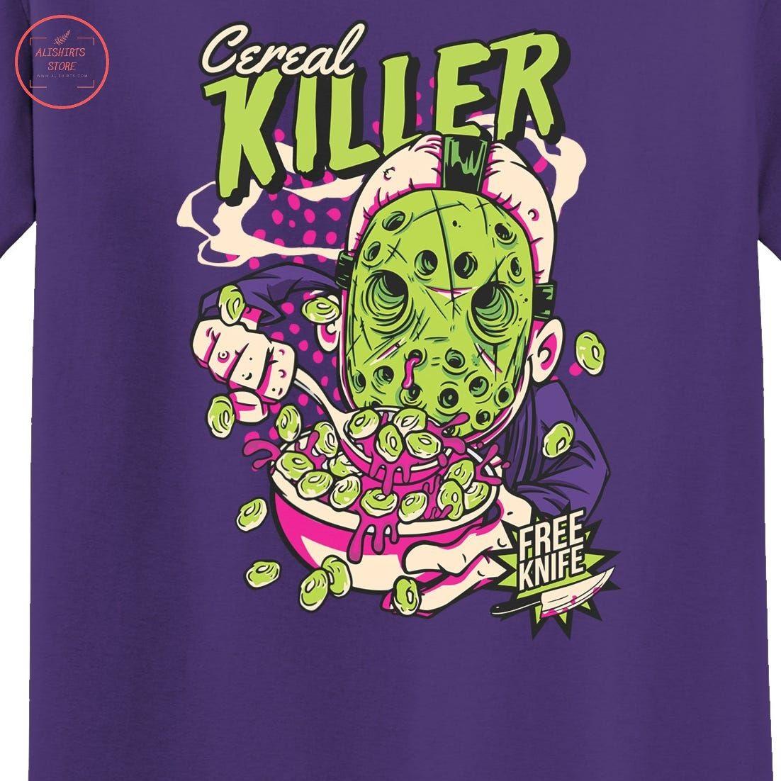 Cereal Killer Funny Shirt