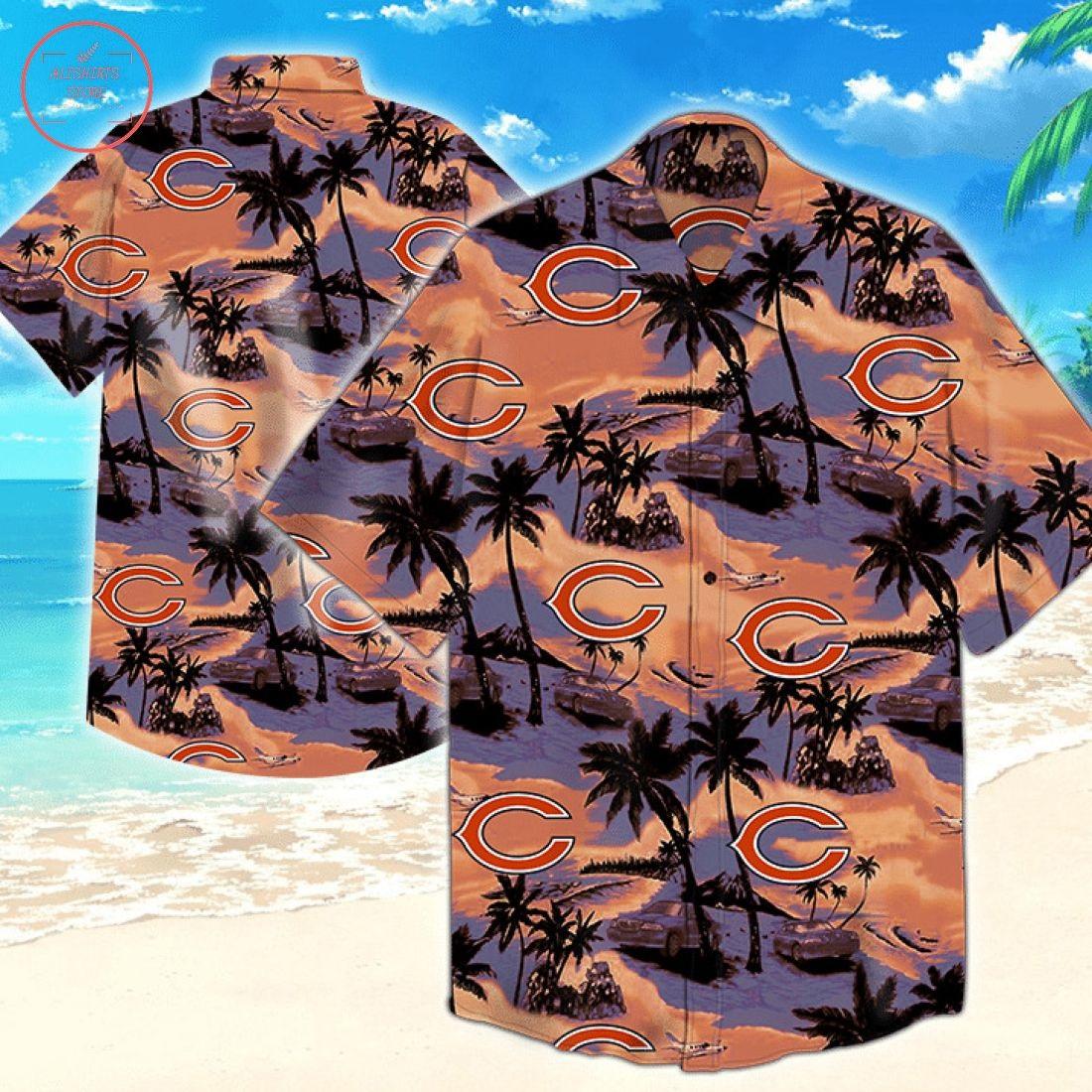 Chicago Bears Nfl Tommy Bahama Hawaiian Shirts