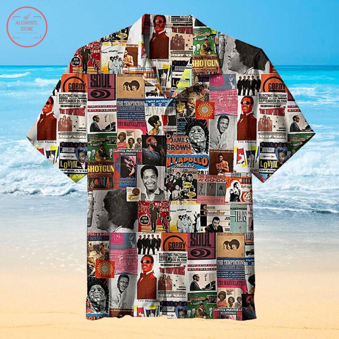 Classic Soul Hawaiian Shirt