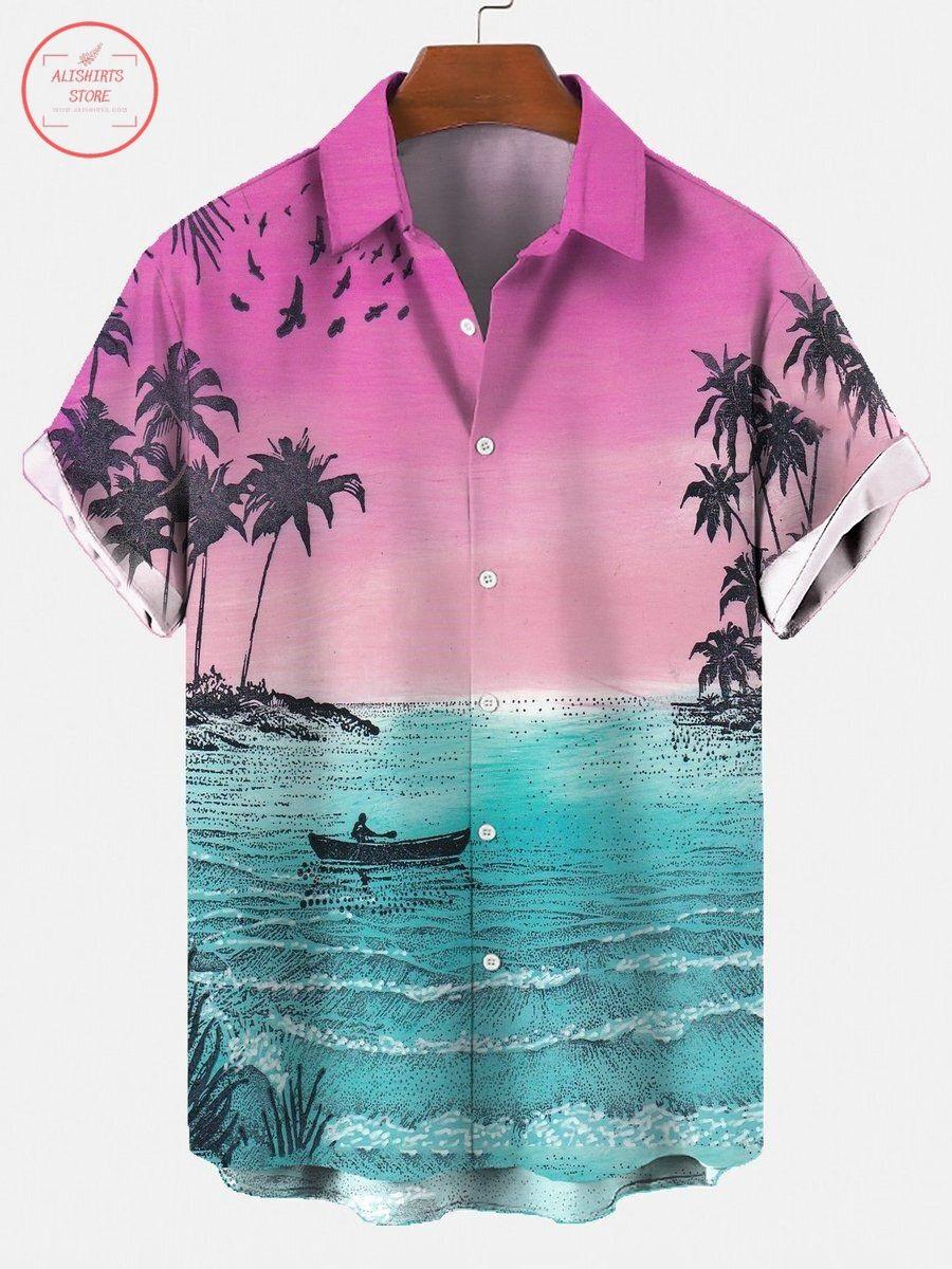 Coconut Tree Hawaiian Shirt