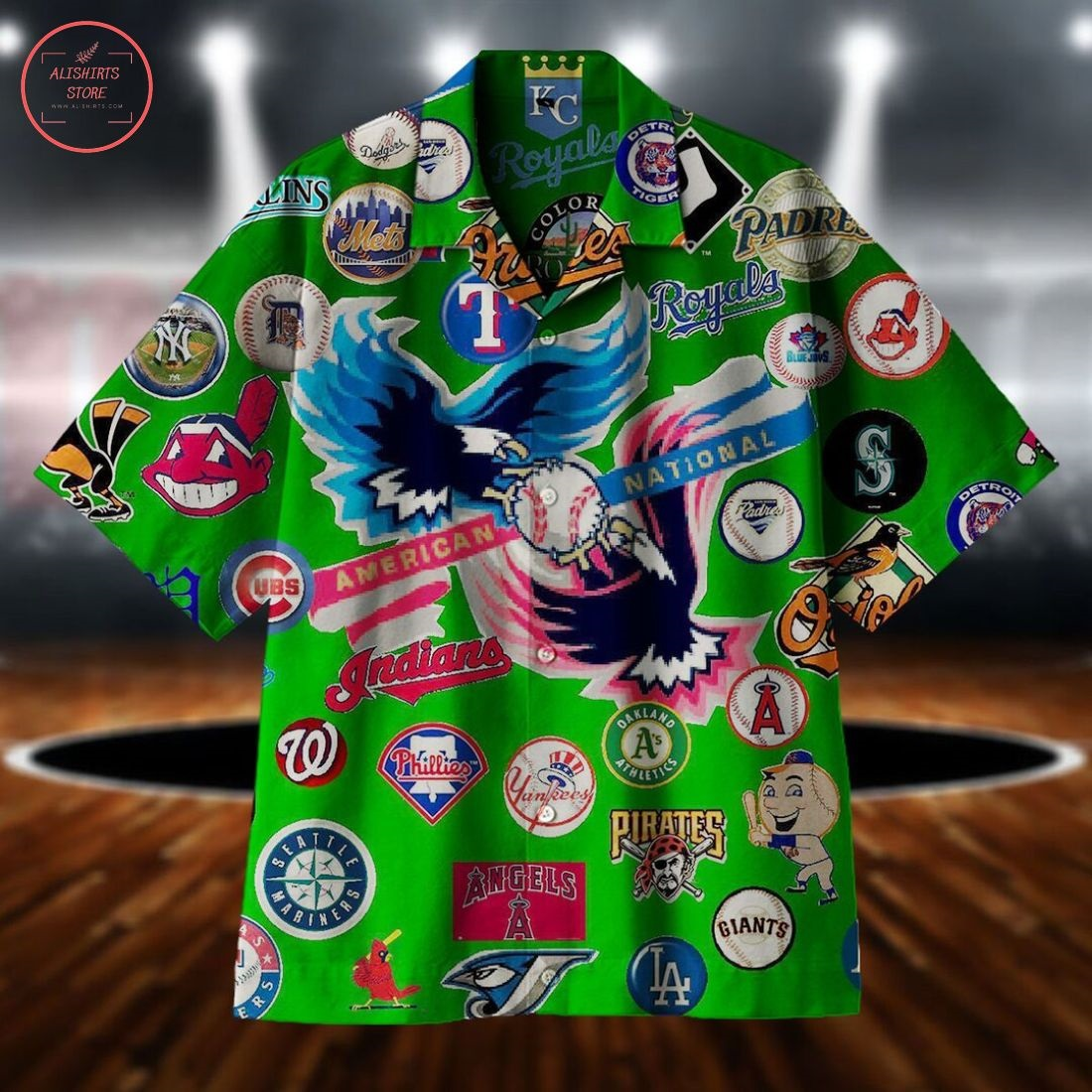 Compete for the Baseball Cup Hawaiian shirt