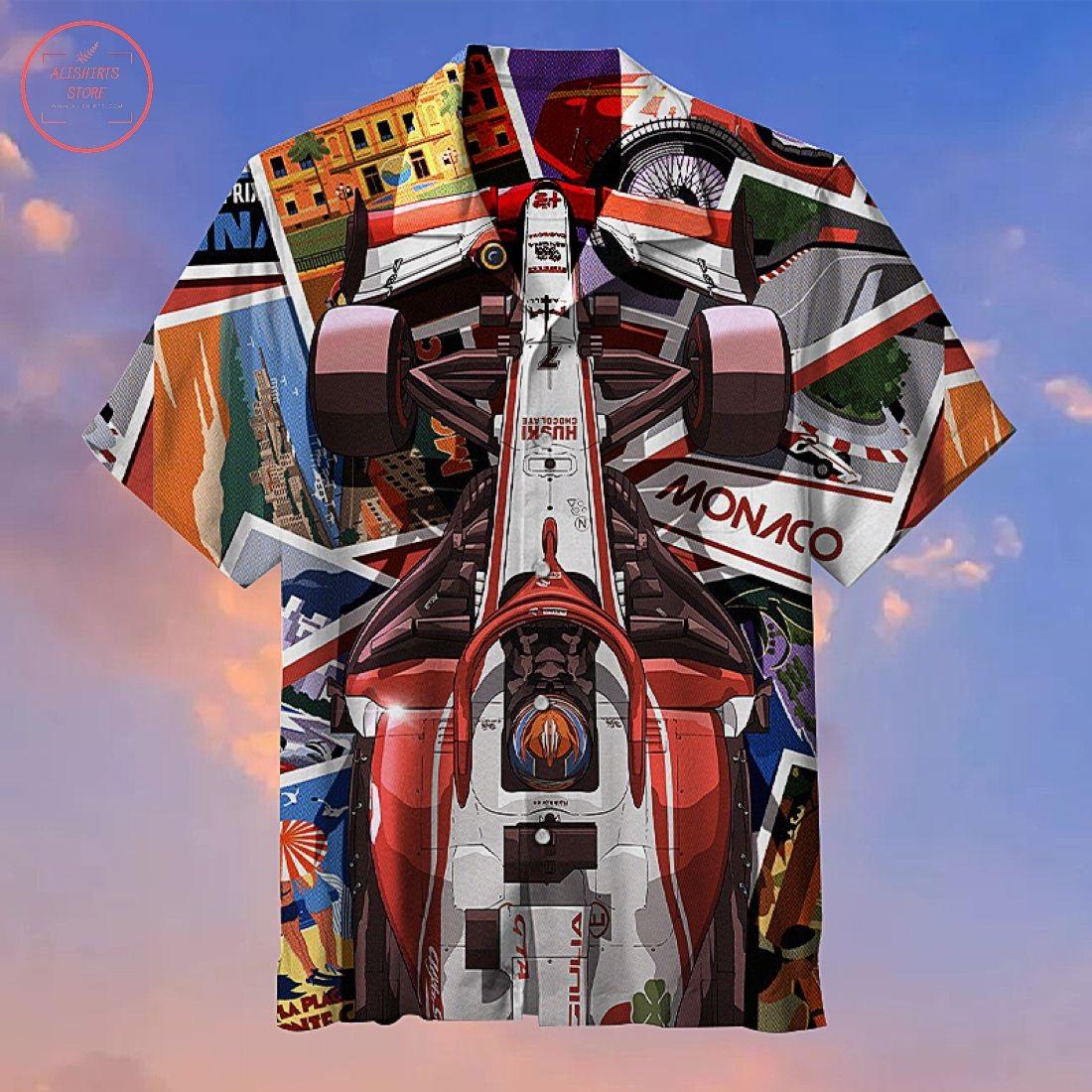 Cool equation racing style Hawaiian Shirt