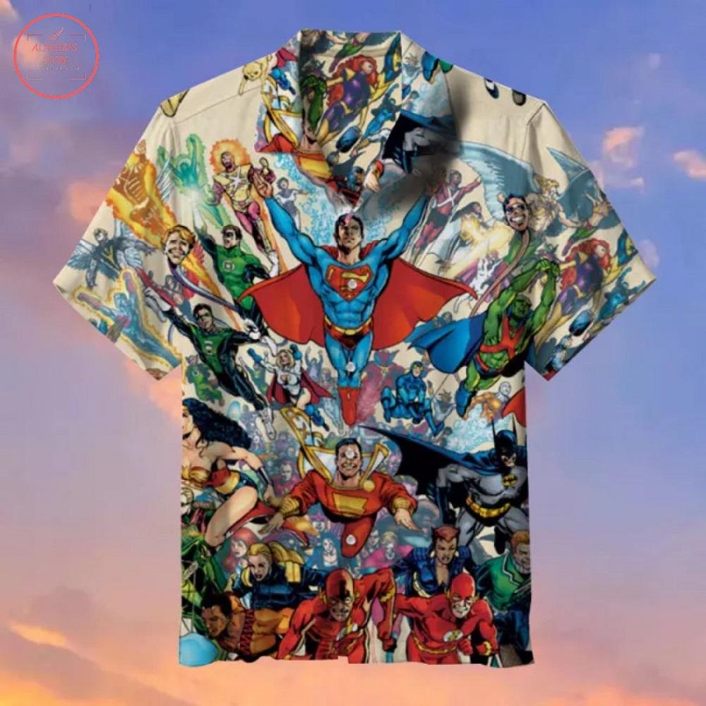 DC Hero Hawaiian Shirt