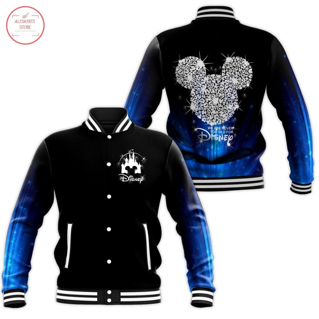 Diamond Mickey Disney Letterman Jacket