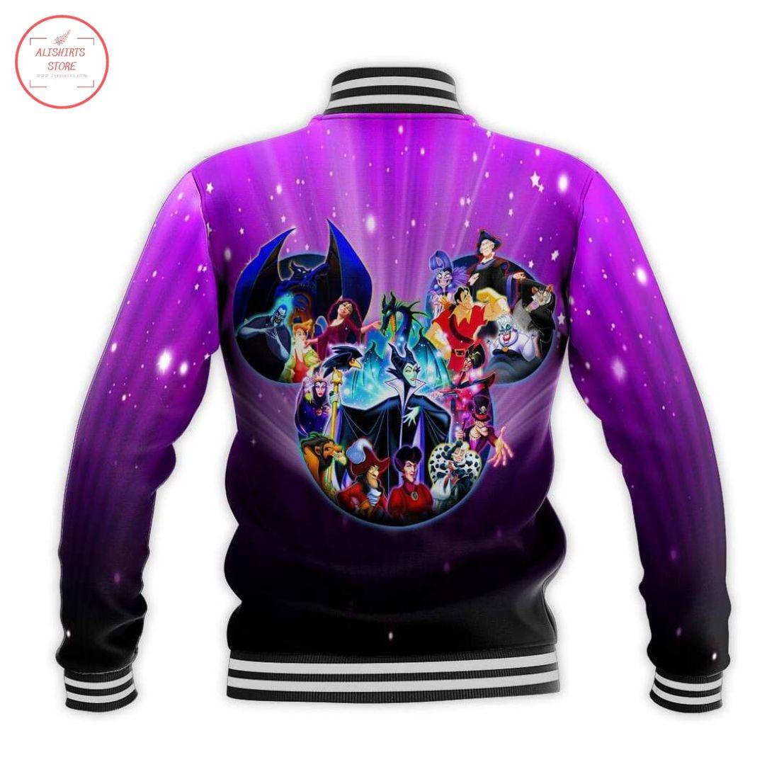 Disney Fantasia Villains Letterman Jacket