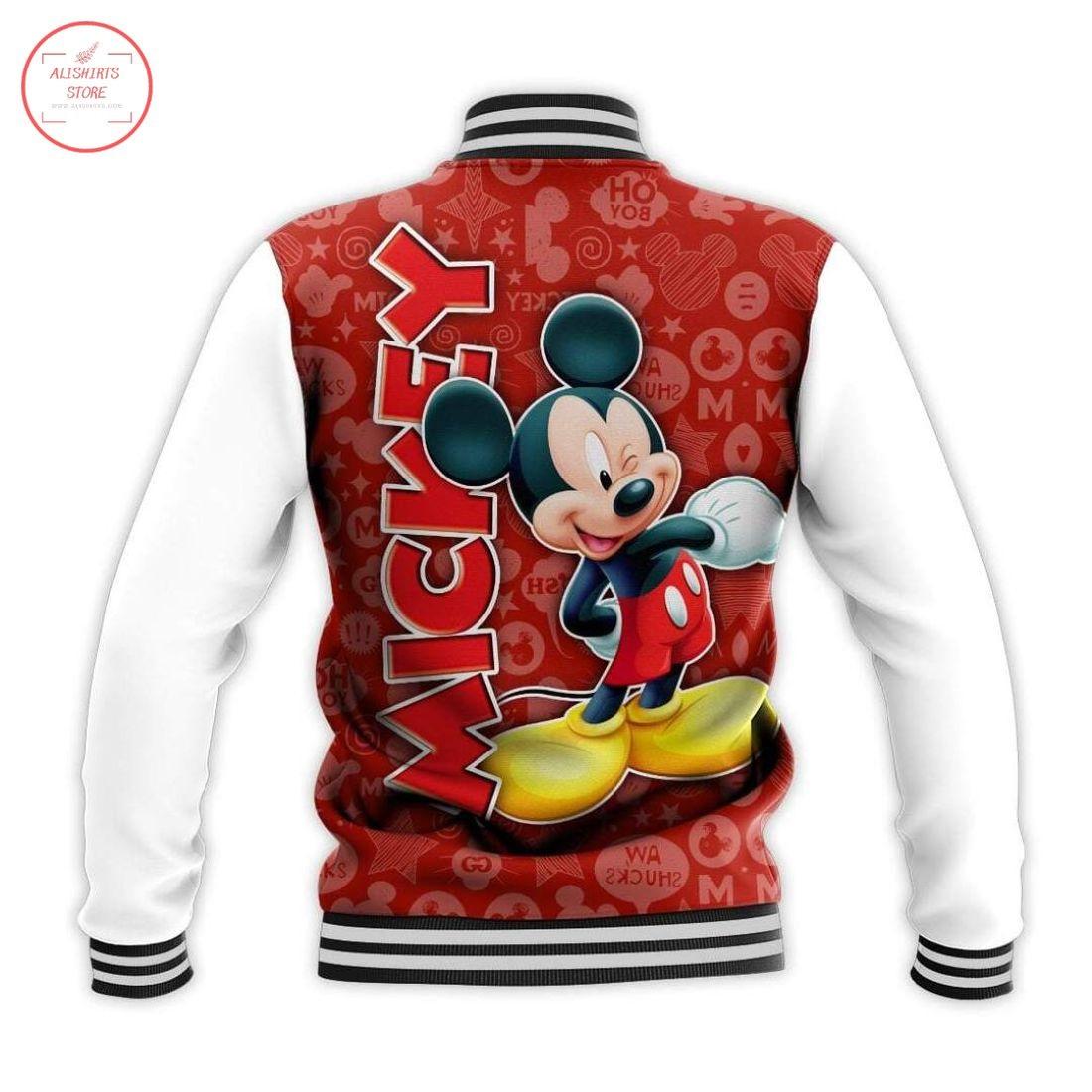 Disney Mickey Mouse Letterman Jacket