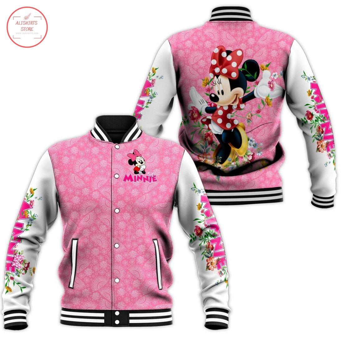 Disney Minnie Mouse Letterman Jacket