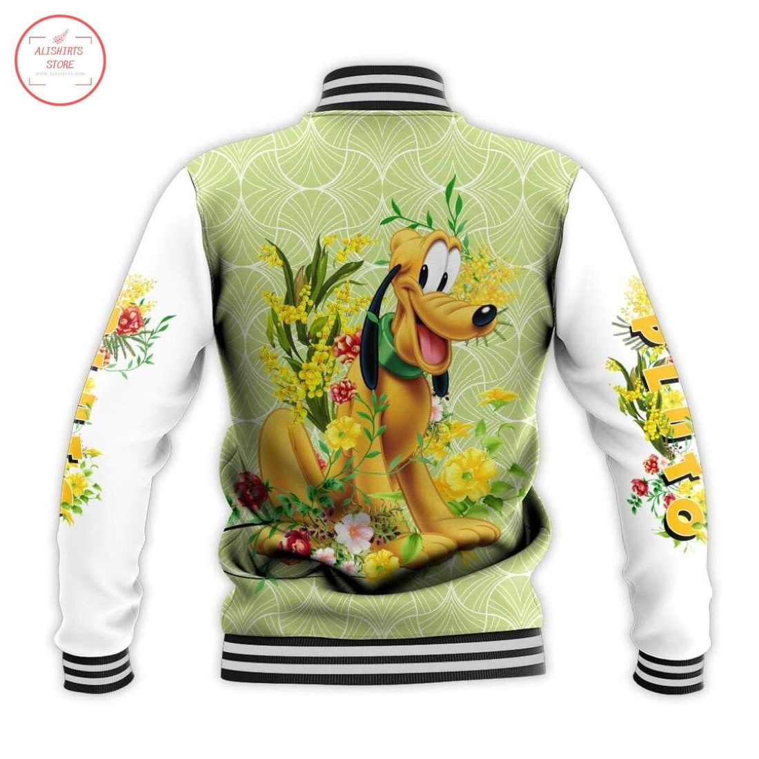 Disney Pluto Dog Letterman Jacket