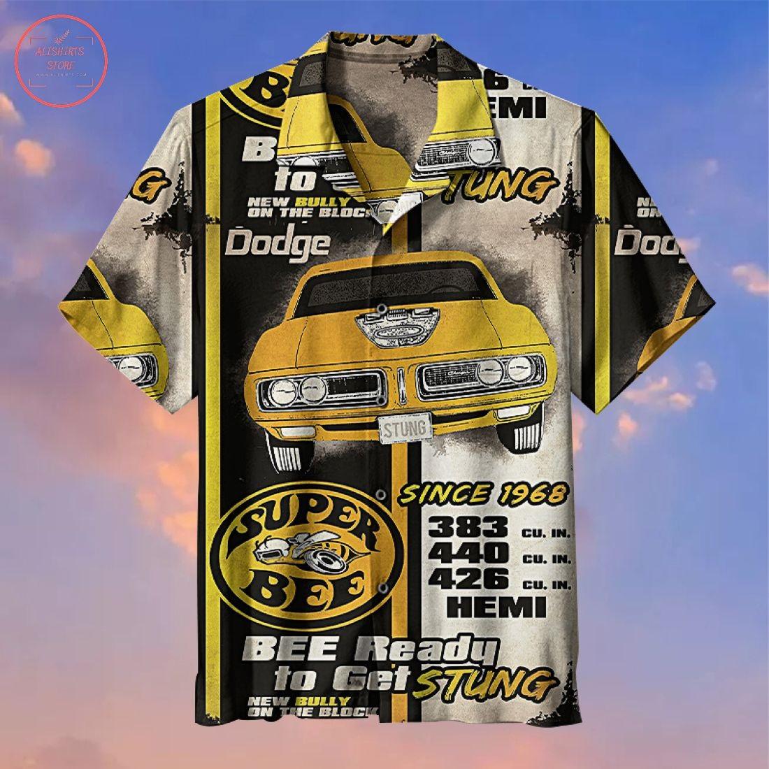 Dodge Super Bee Hawaiian Shirt