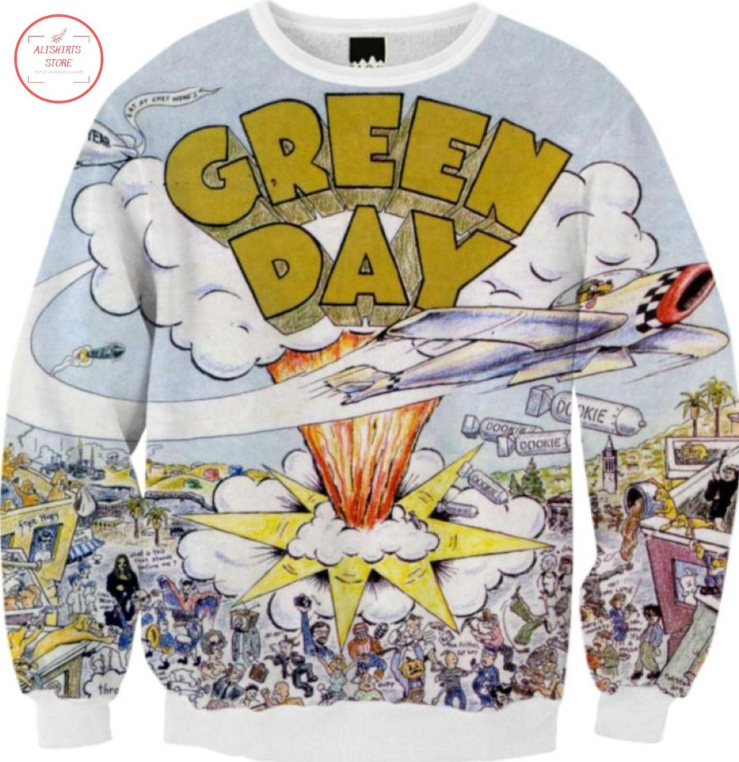 Dookie Green Day Band Sweatshirt