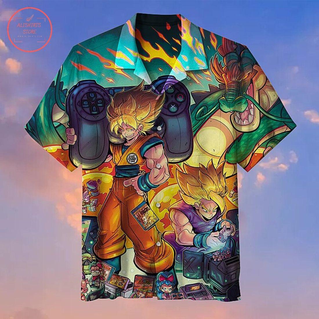 Dragon Ball Super Hawaiian Shirt