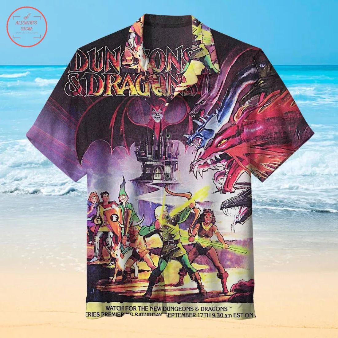 Dungeons and Dragons Hawaiian Shirt