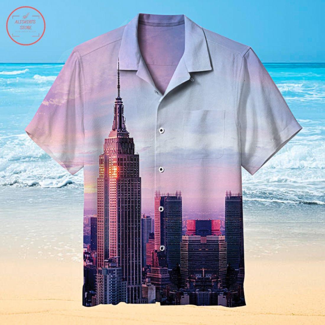 Empire State Building Hawaiian Shirt