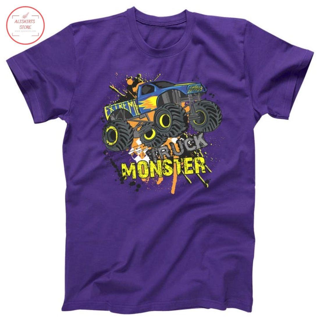 Extreme Monster Truck Shirt