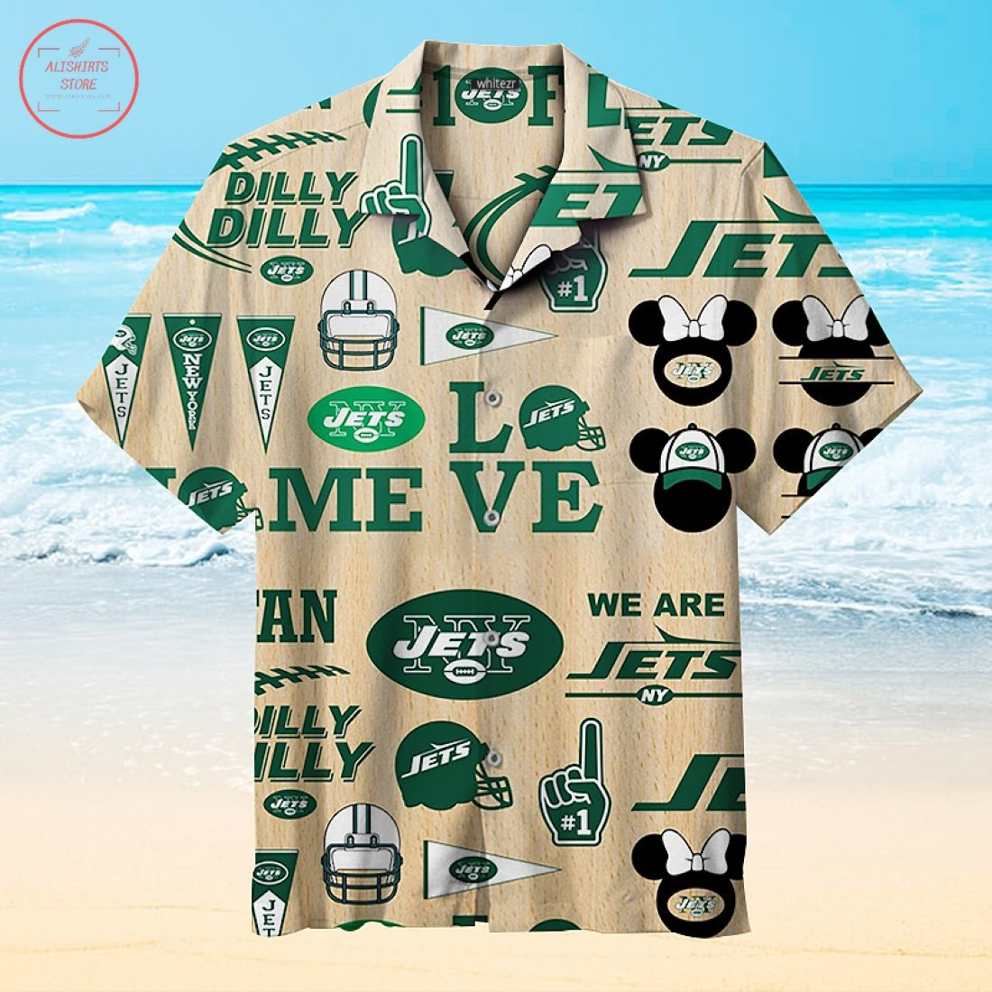Favorite New York Jets Hawaiian Shirt