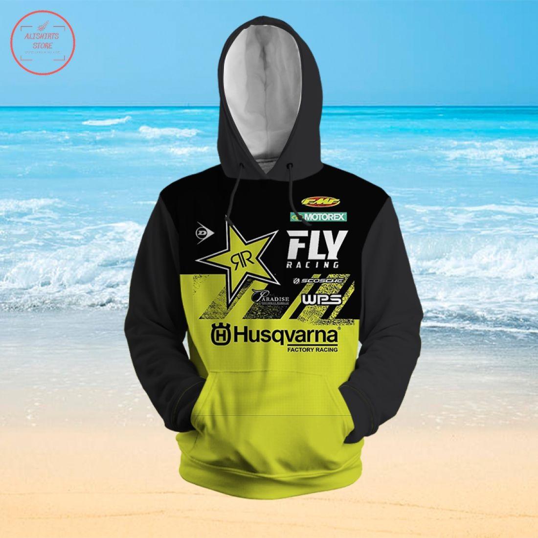 Fly Racing Husqvarna 3D Hoodie