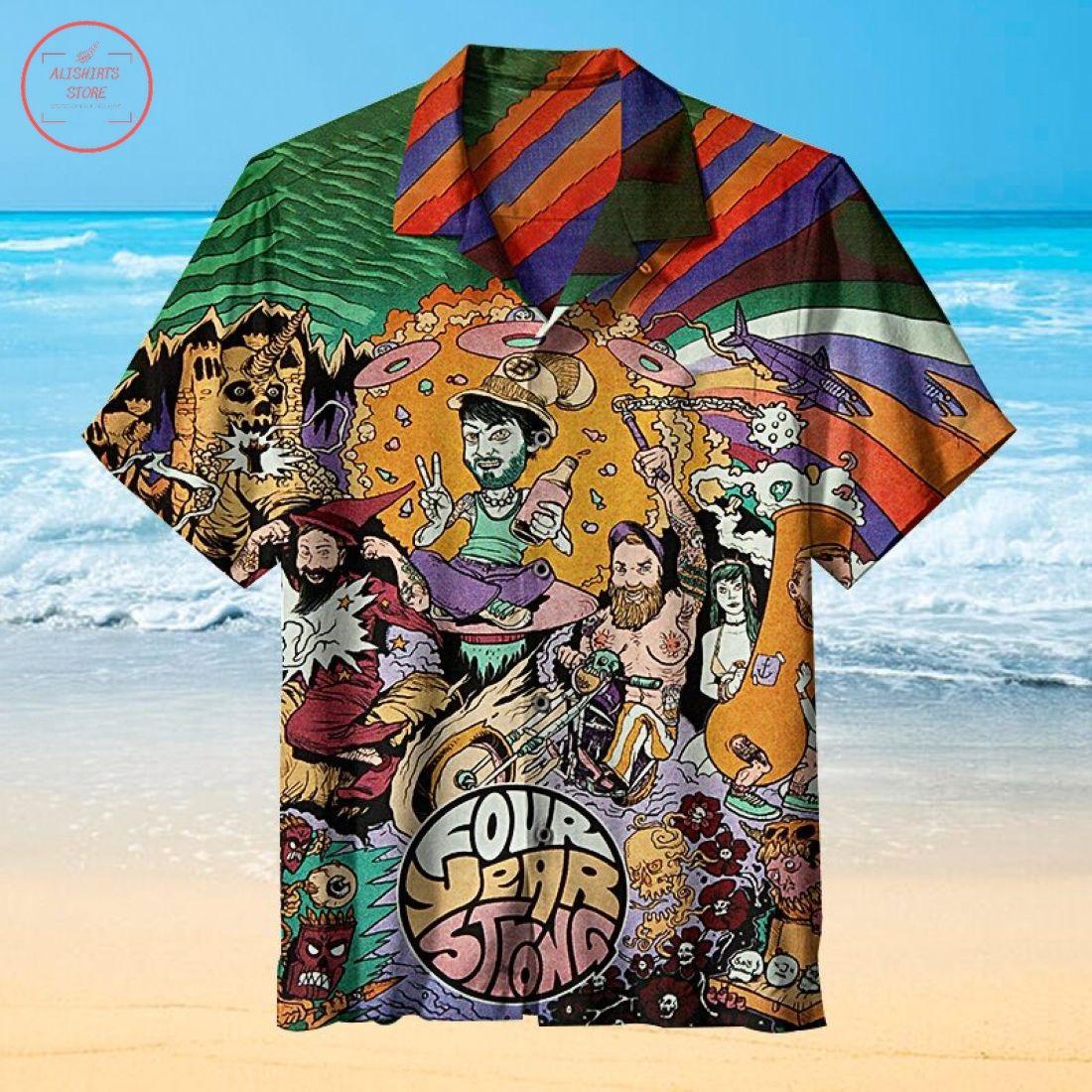 Four Year Strong Hawaiian Shirt