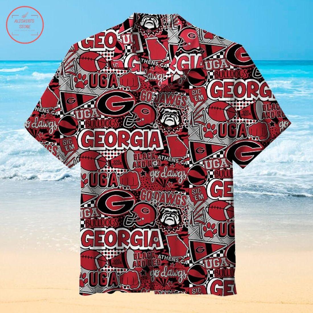 Georgia Bulldogs Hawaiian Shirt