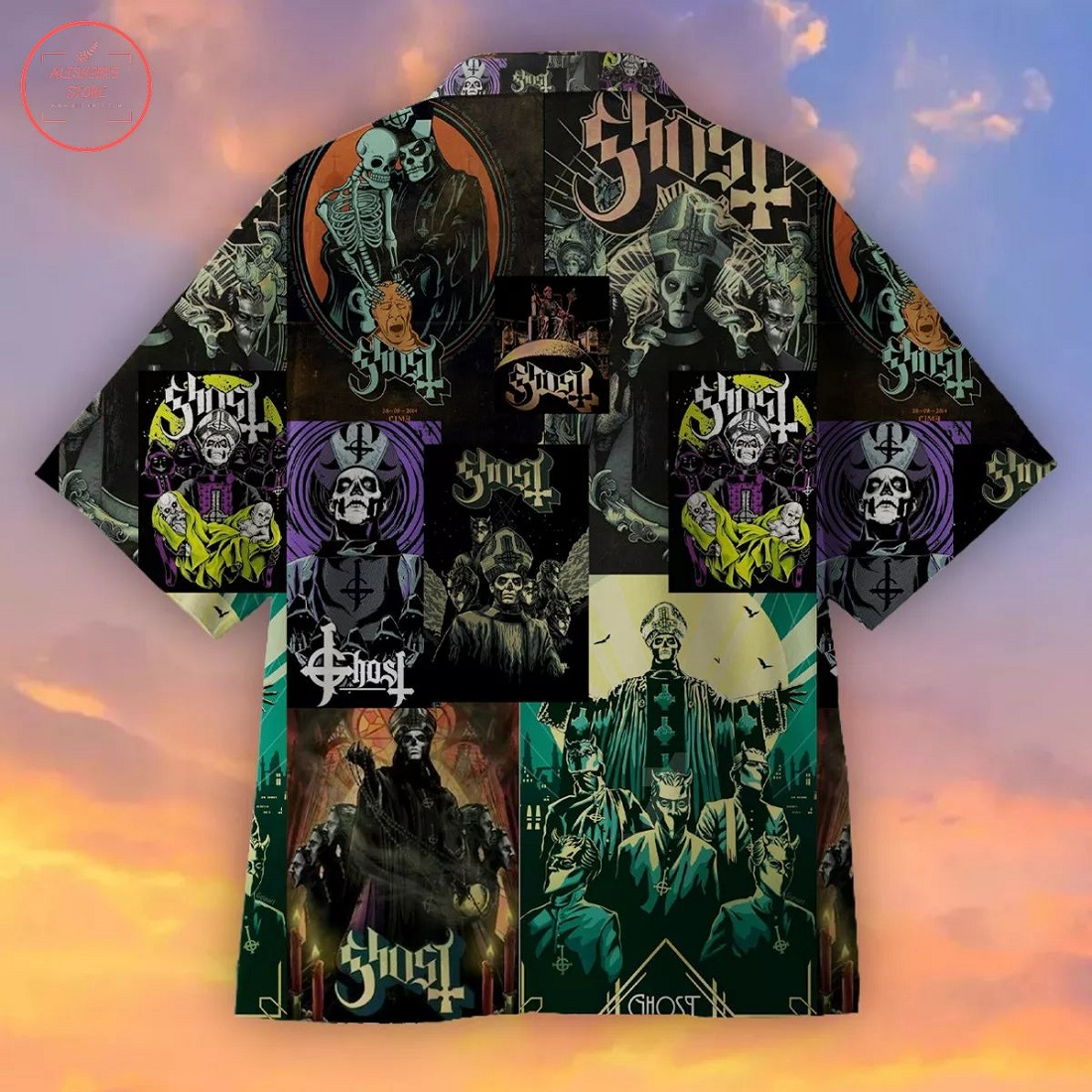 Ghost Creative Hawaiian Shirt