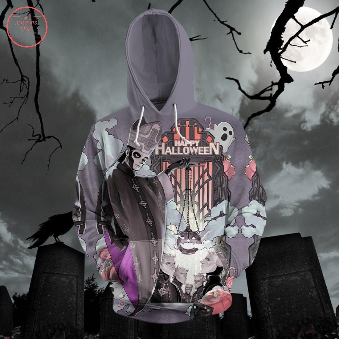 Ghost Happy Halloween 3D Hoodie
