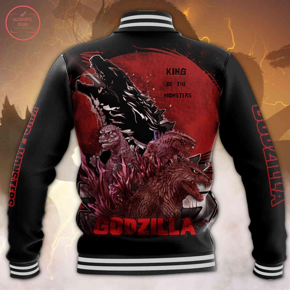 Godzilla King of The MonstersLetterman Jacket