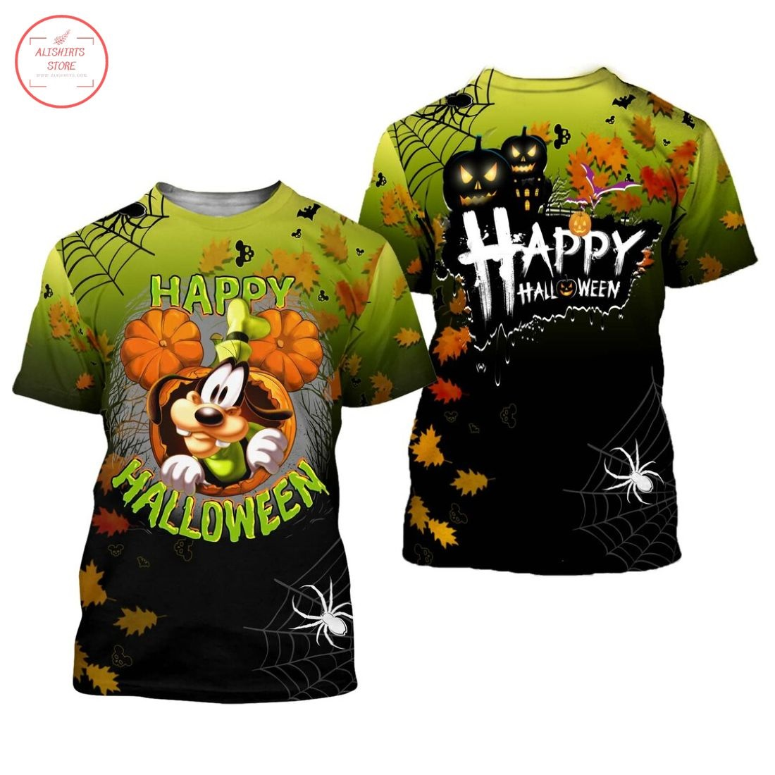Goofy Disney Happy Halloween Shirt