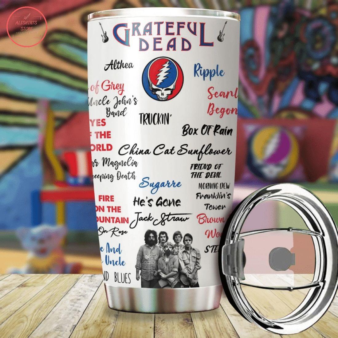 Grateful Dead Band On Stage Tumbler