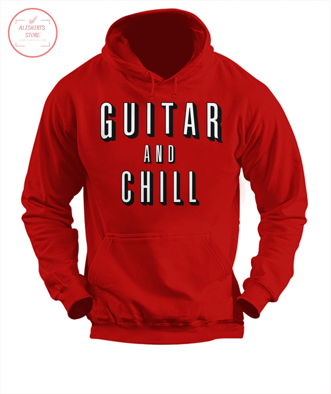 Guitar And Chill Hoodie