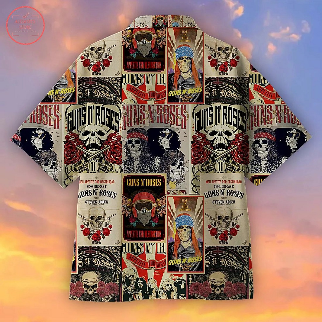 Guns N Roses Creative Hawaiian Shirt