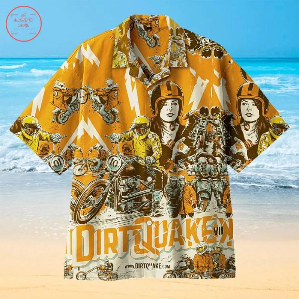 Guy Martin returns to Dirt Quake Hawaiian Shirt