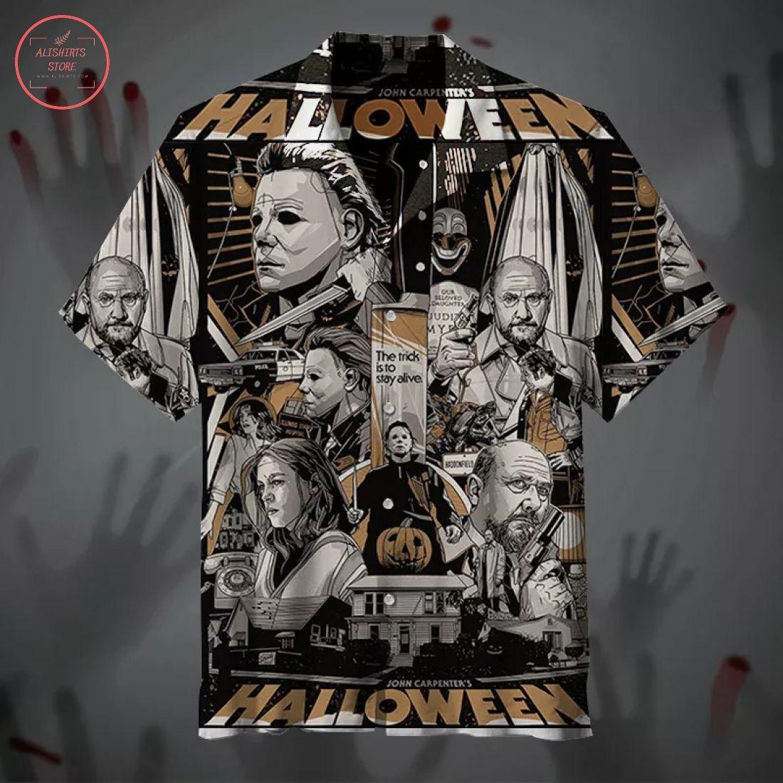 Halloween Classic Horror Movie Hawaiian Shirts