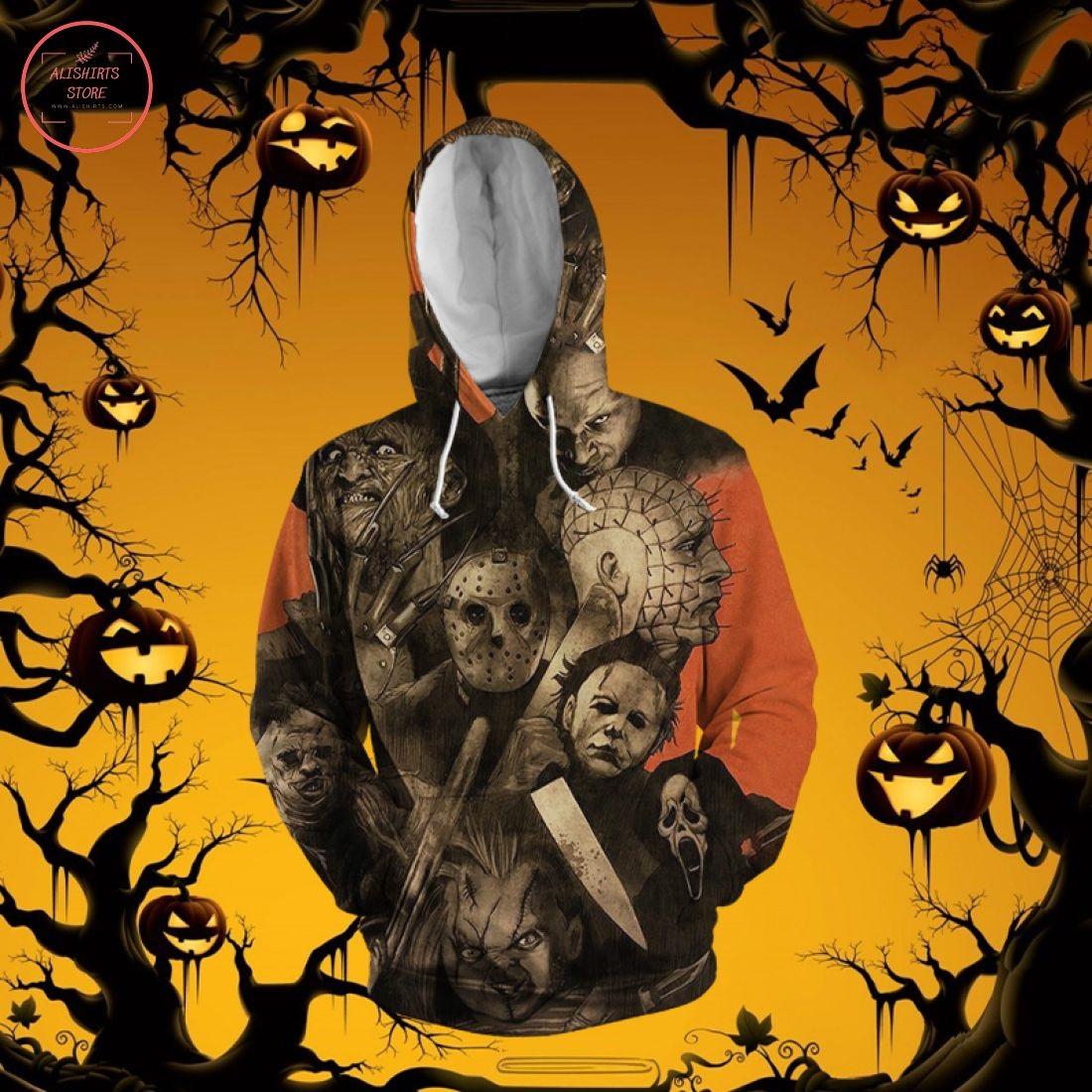 Halloween Horror Movie 3D Hoodie
