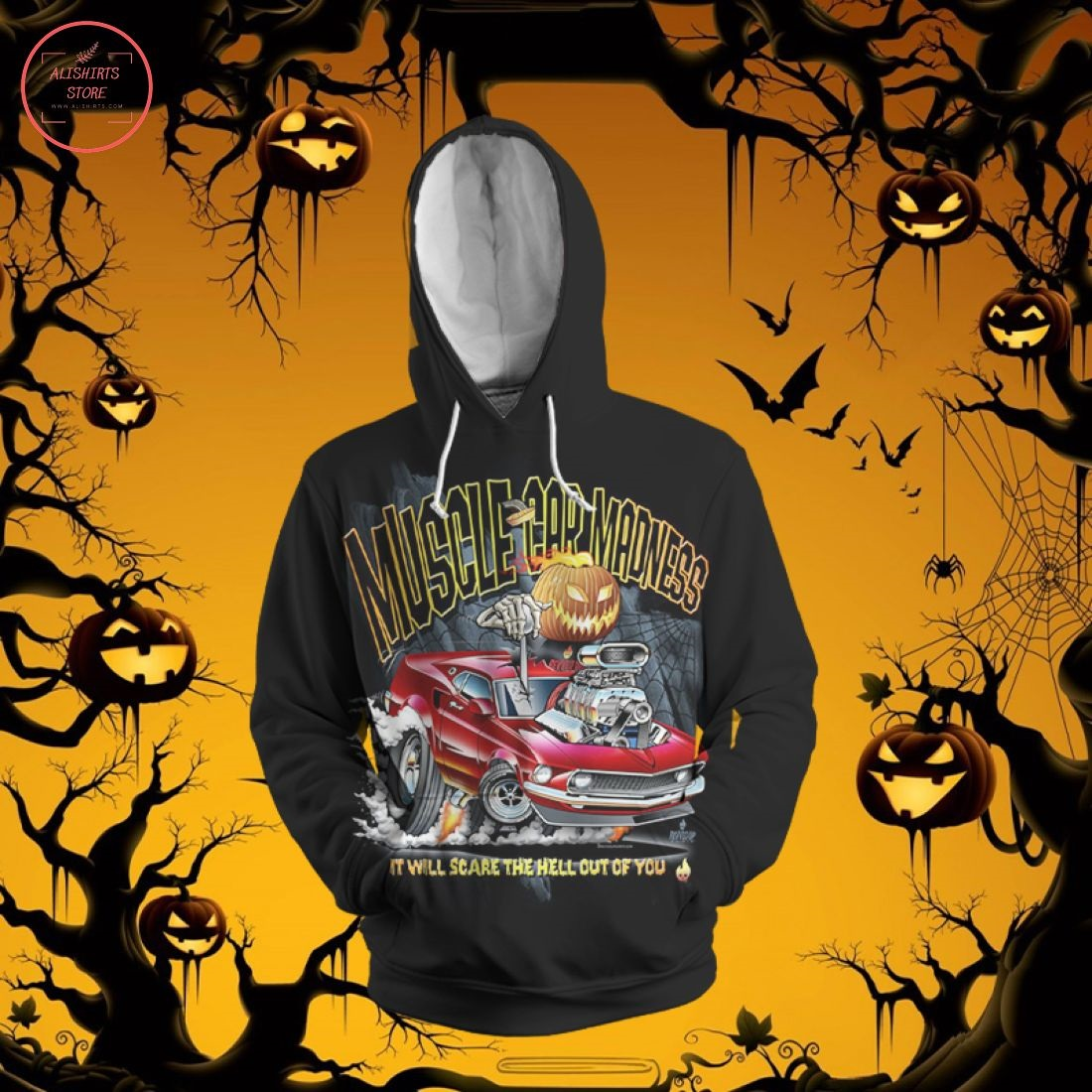 Halloween Hot Rod Hoodie
