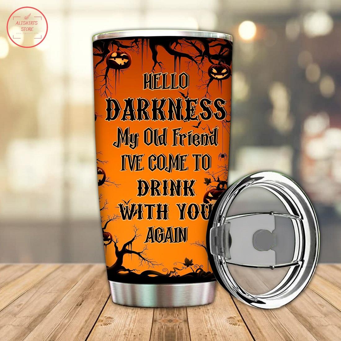 Halloween Is Coming Soon Custom Tumbler