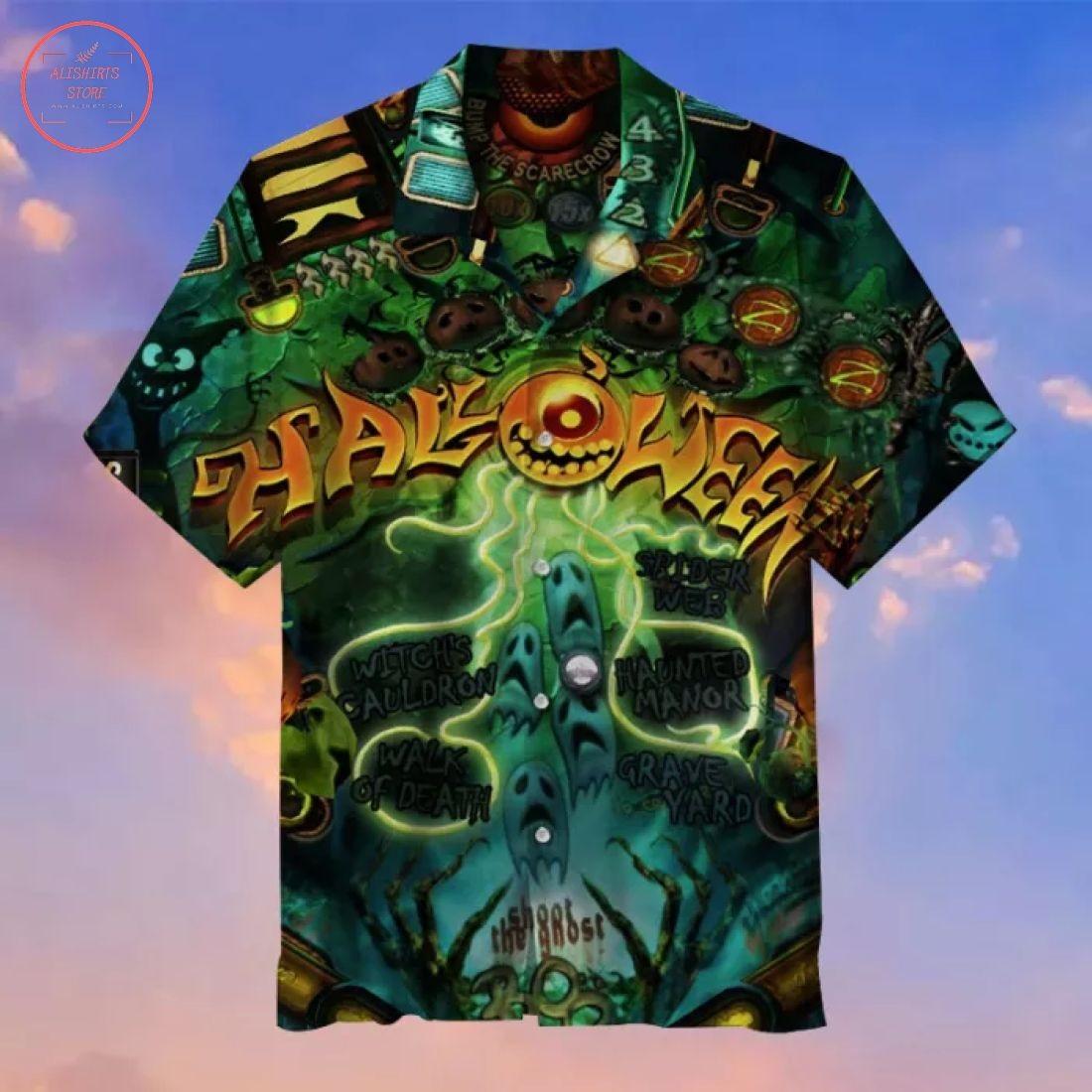 Halloween Party Hawaiian Shirt