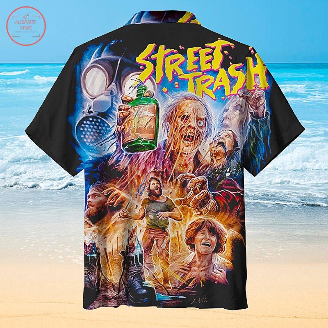 Halloween Street Trash Hawaiian Shirt