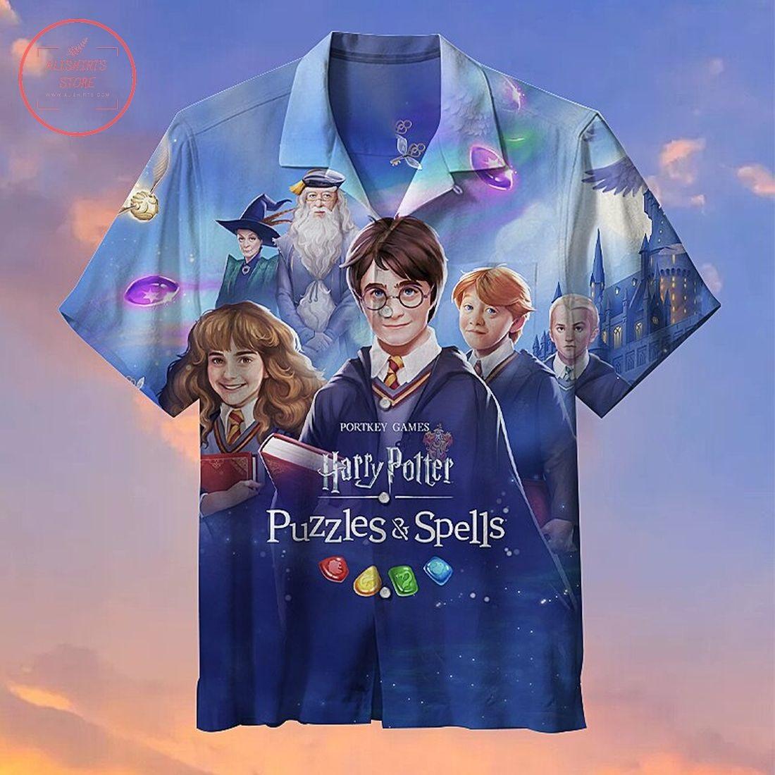 Harry Potter Commemorative Hawaiian Shirt