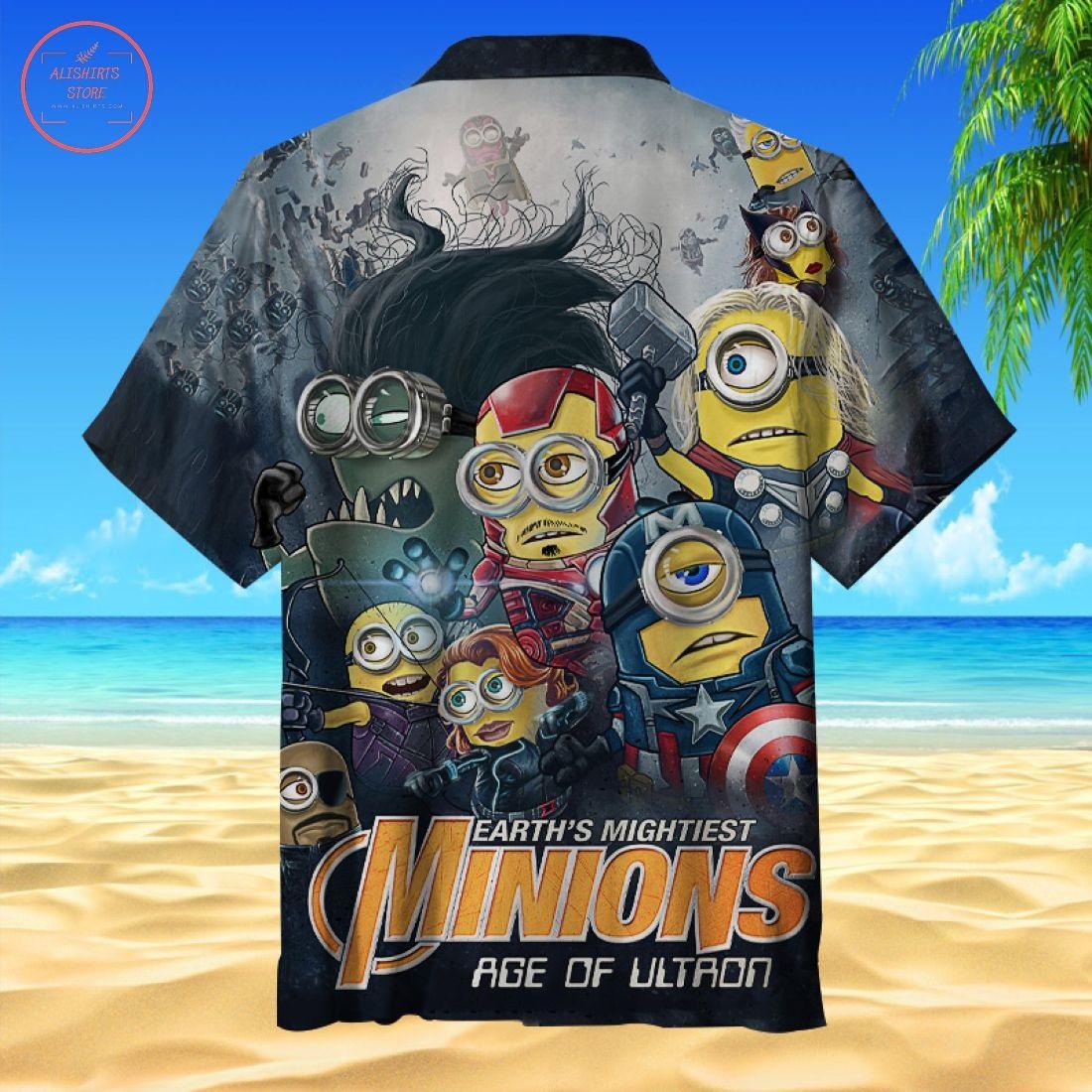 Hero Minions Hawaiian Shirt