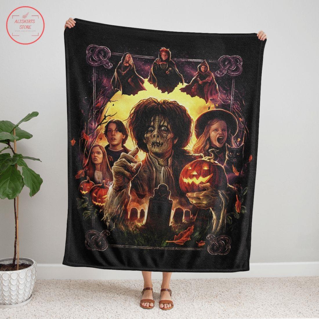 Hocus Pocus Another Glorious Morning Halloween Blanket
