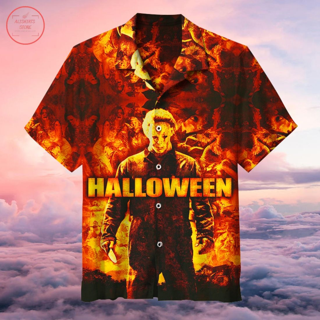Horror Film Collection Hawaiian Shirt