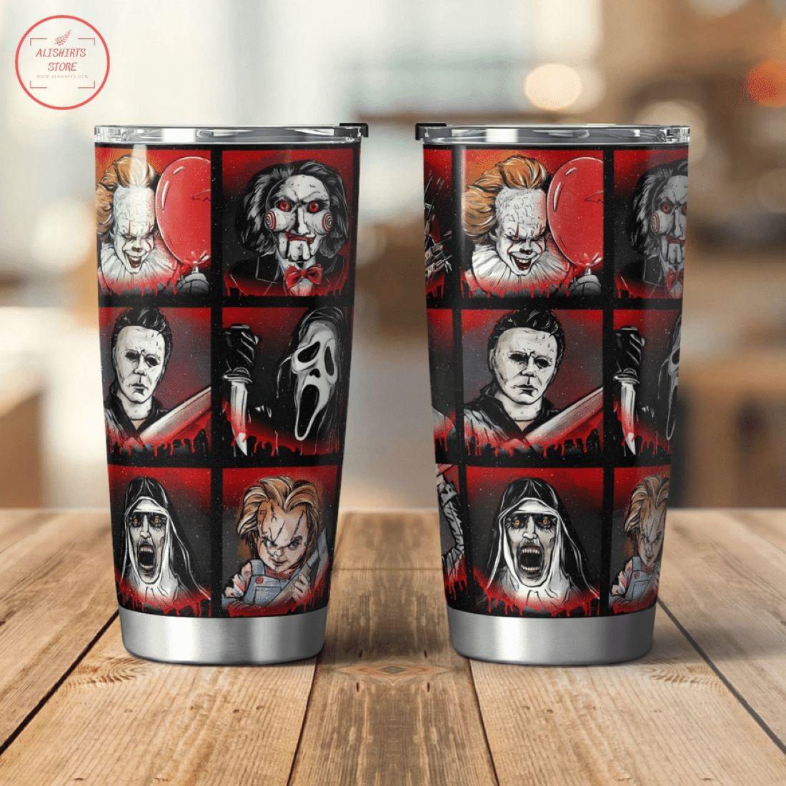 Horror Movies Shining Halloween Tumbler