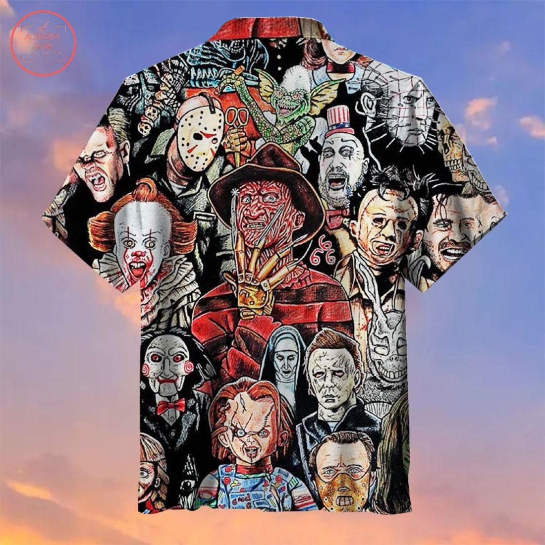 Horror character Hawaiian Shirt
