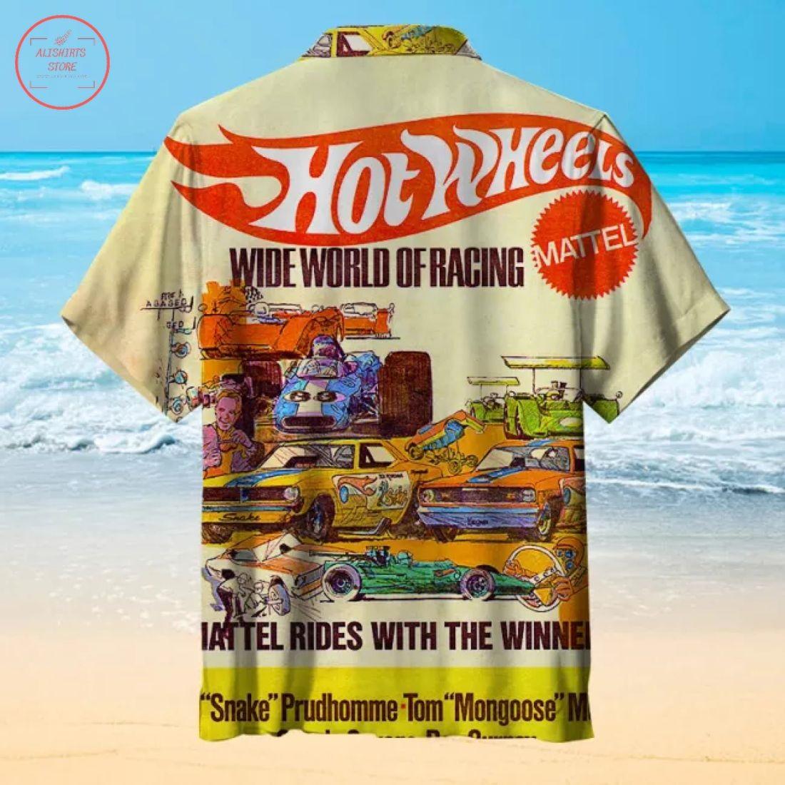 Hot wheelsHawaiian Shirt
